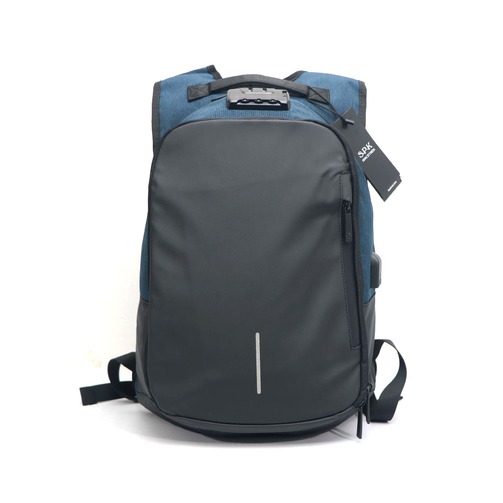 Space Trek 14 Inch Anti-theft Lock Laptop Bag With Usb Port