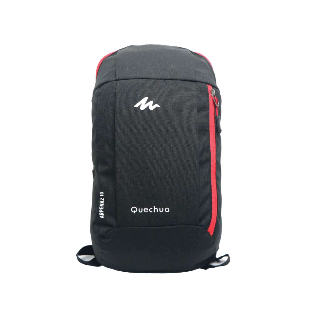 Quechua 10 Litre Mini Backpack - Black Red