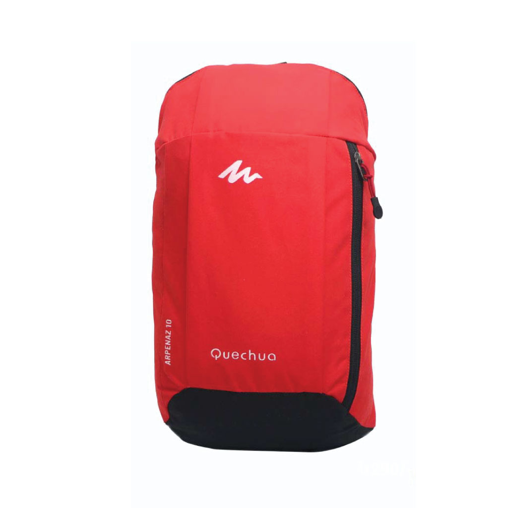 Quechua 10 Litre Mini Backpack - Red Black