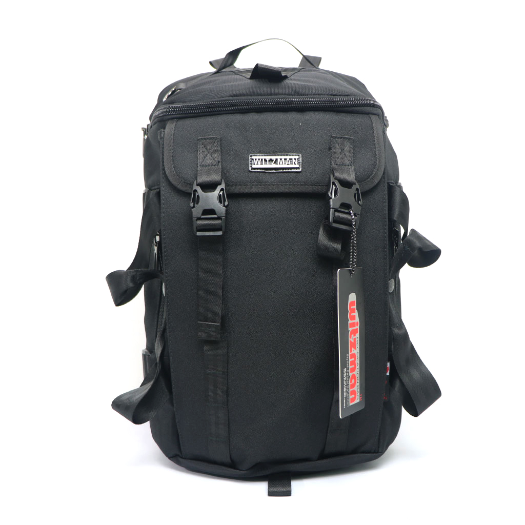 Witzman 23 Inch Black Travel Backpack