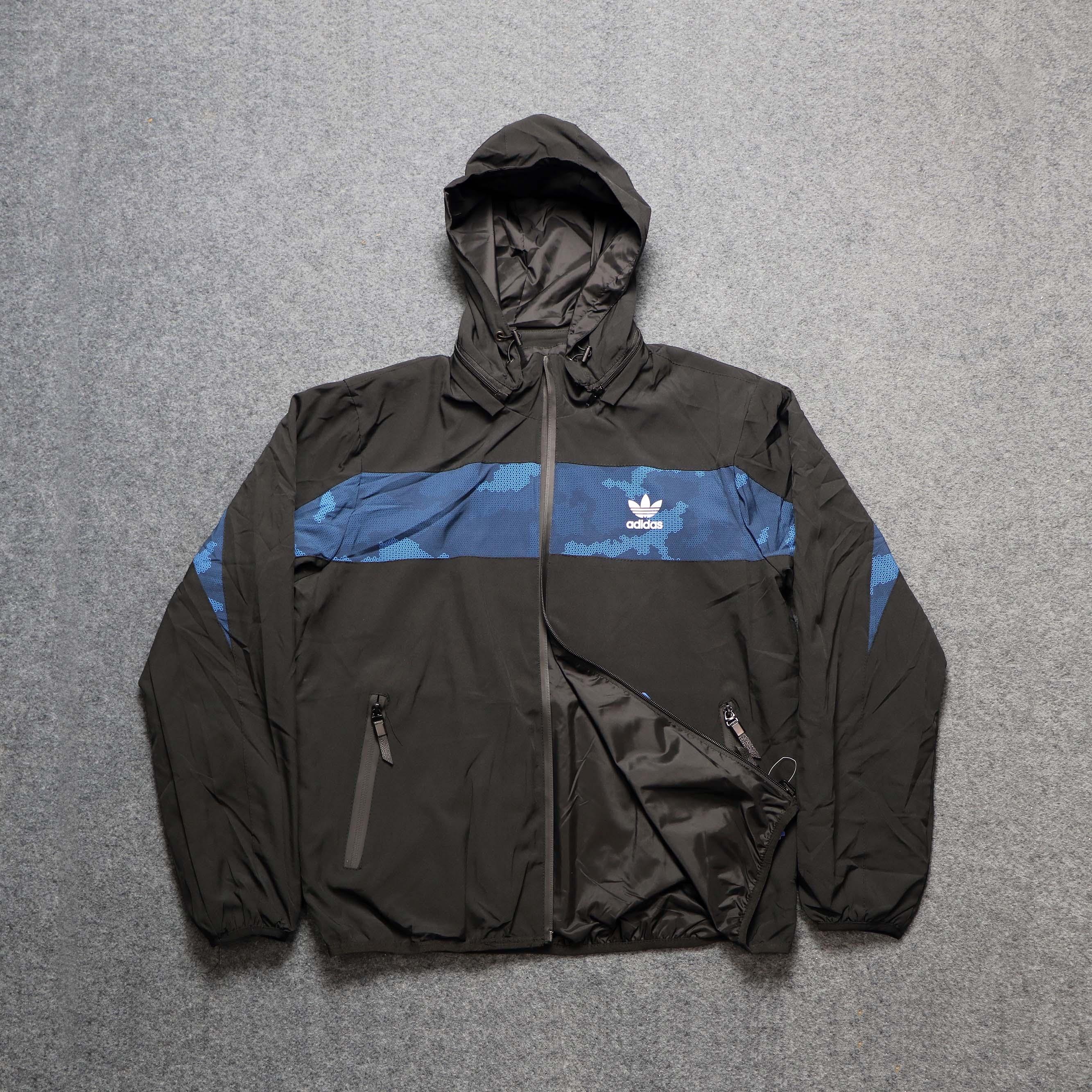 Double Part Hoodie Jacket
