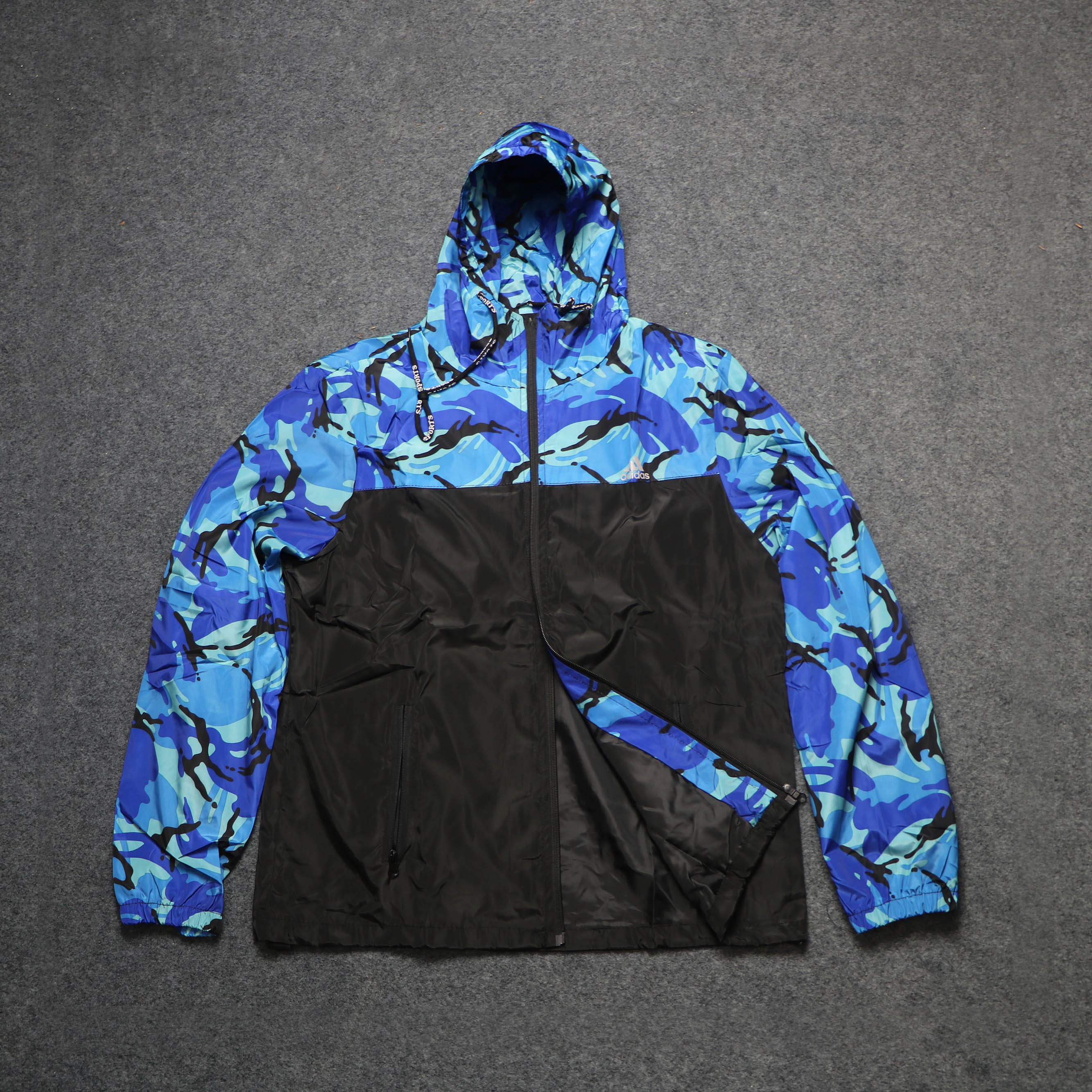 Men's Windbreaker Hoodie Jacket