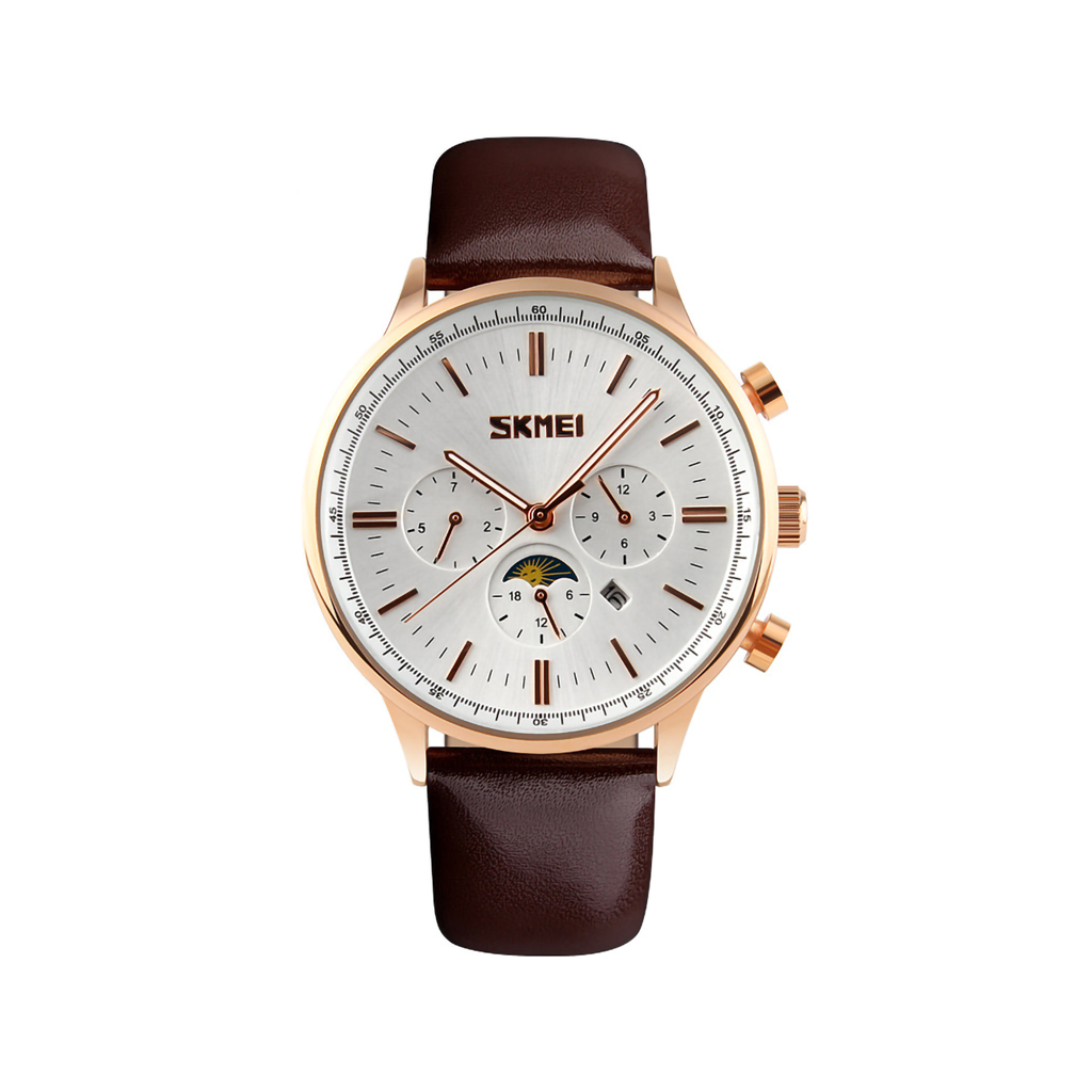 Skmei 9117sw Men Quartz Belt Wrist Watch