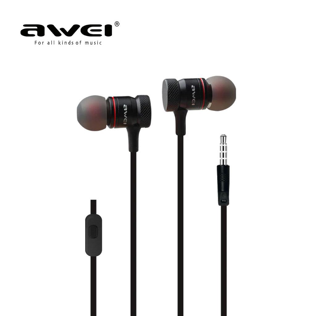 Awei Es-70i In-ear Earphone Metal Music With Mic