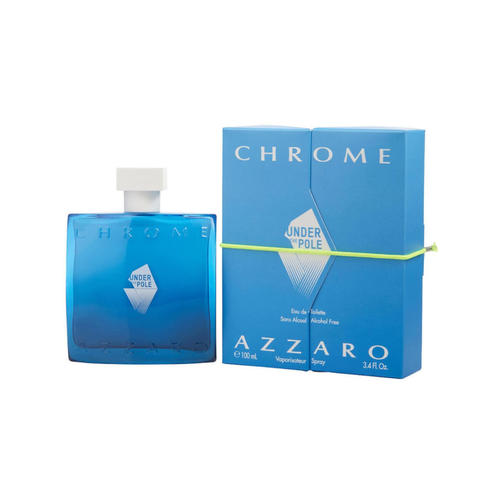 Azzaro Chrome Under The Pole Edt (alcohol Free) 100ml