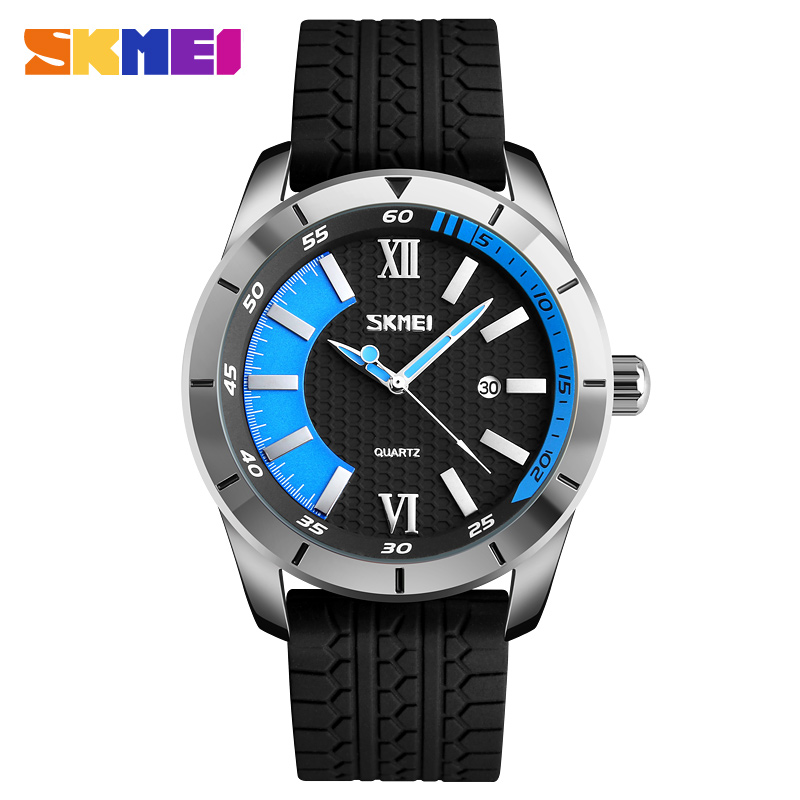 Skmei 9151bu Men Quartz Belt Wrist Watch