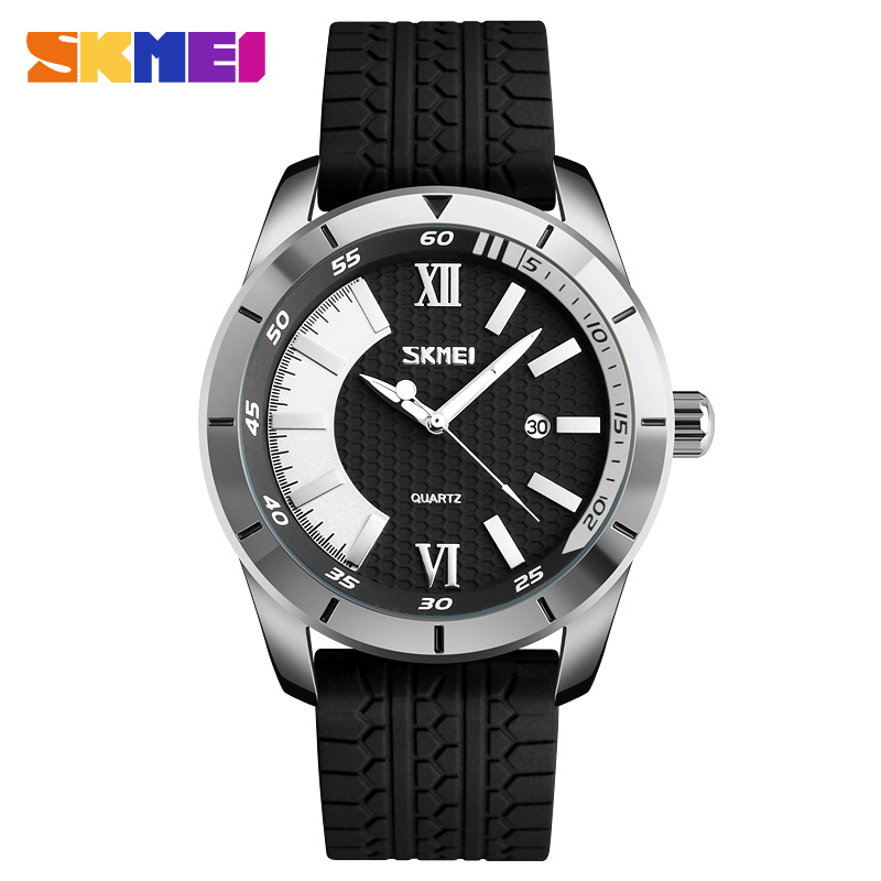 Skmei 9151sl Men Quartz Belt Wrist Watch
