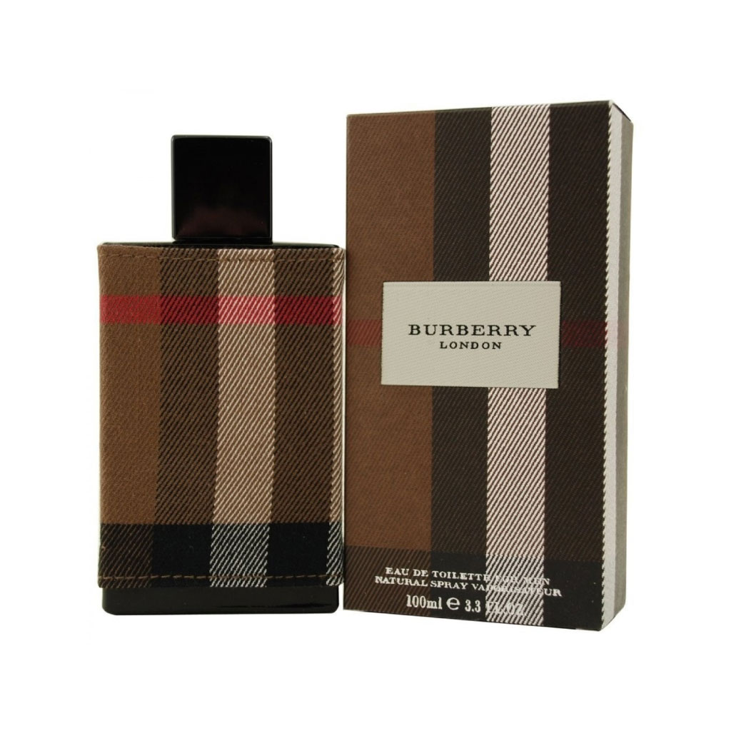 Burberry London Fabric Edt 100ml For Men