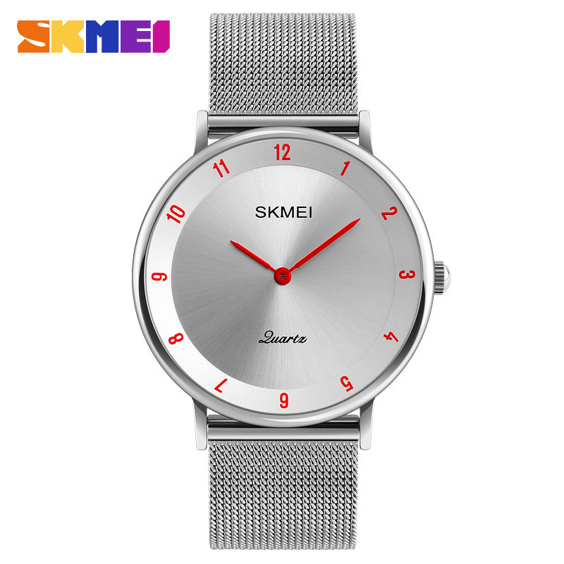Skmei 1264rd Quartz Stainless Steel Water Resistant Watch