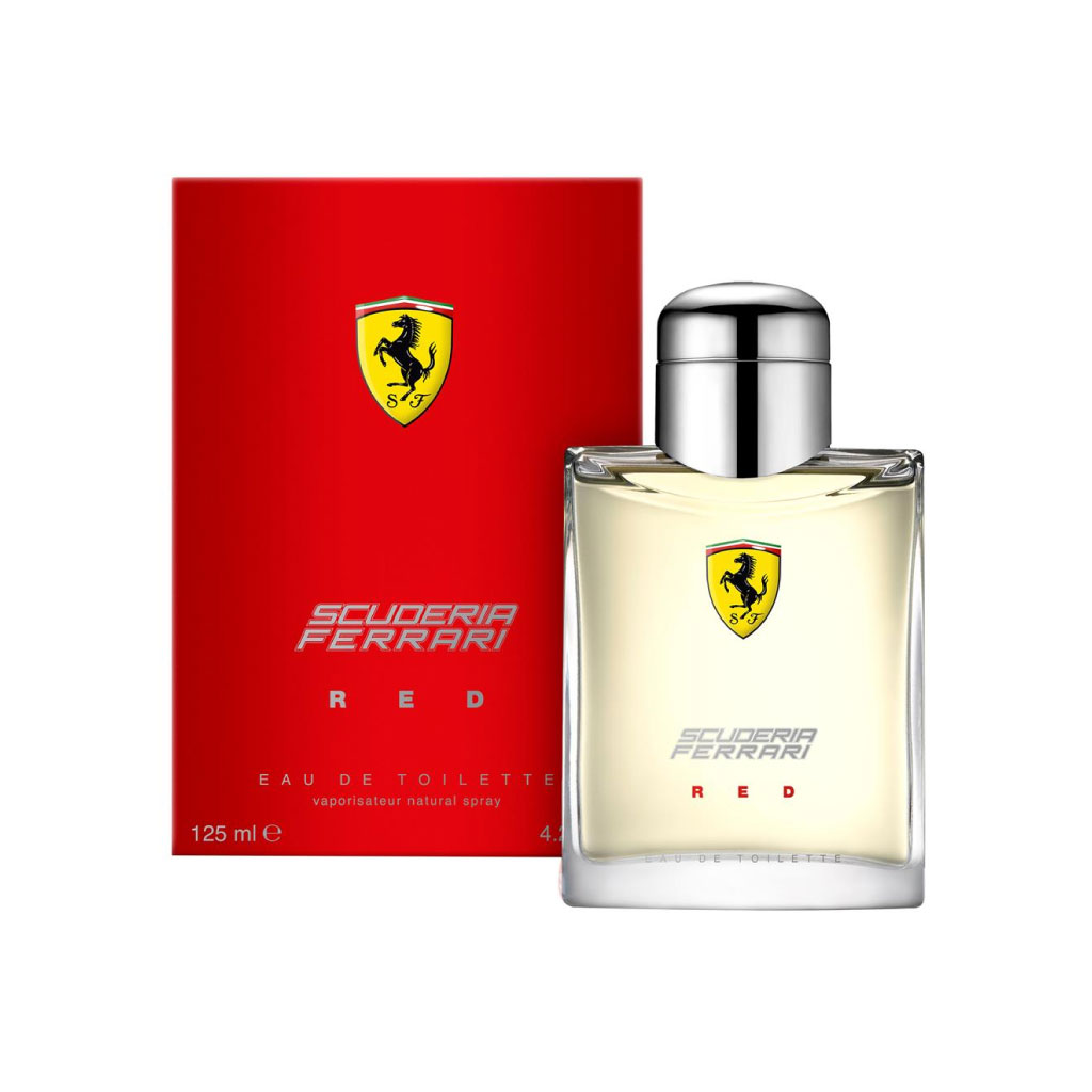 Ferrari Scuderia Red Edt 125ml For Men