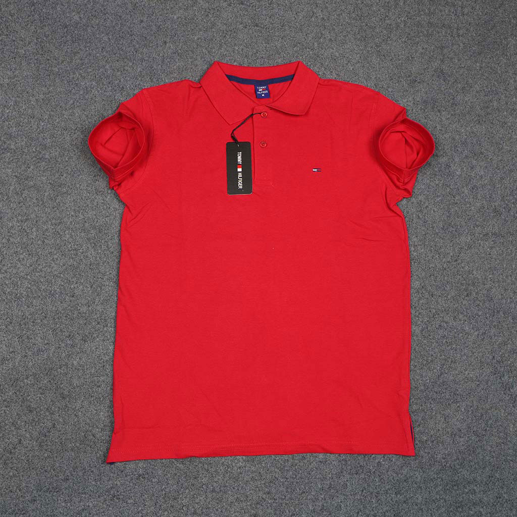 Tommy Hilfiger Men's Polo T-shirt (red)