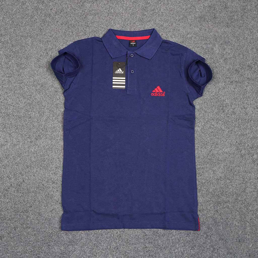 Men's Polo T-shirt (blue) S