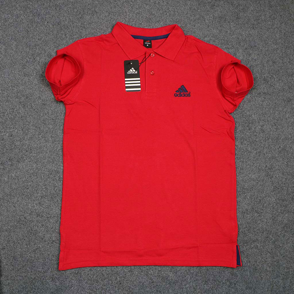 Men's Polo T-shirt (red) M