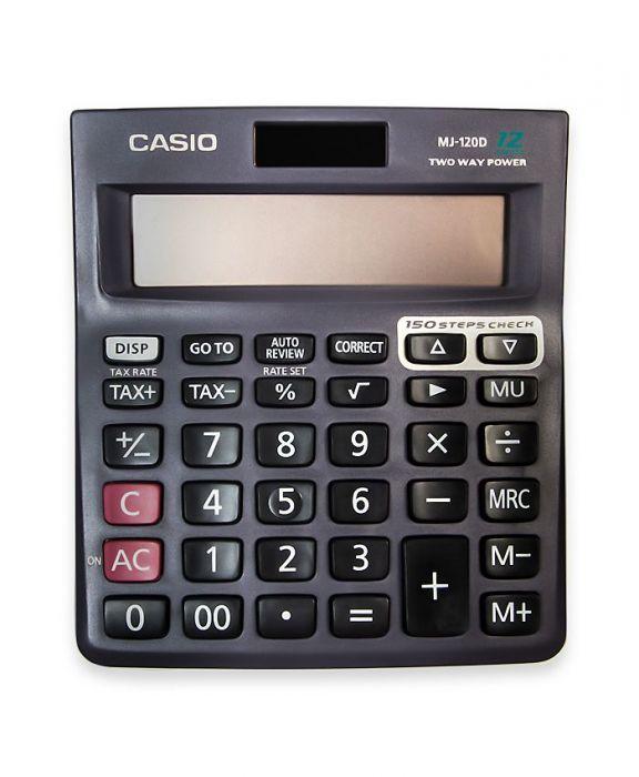 Casio Mj-120d Calculator Check