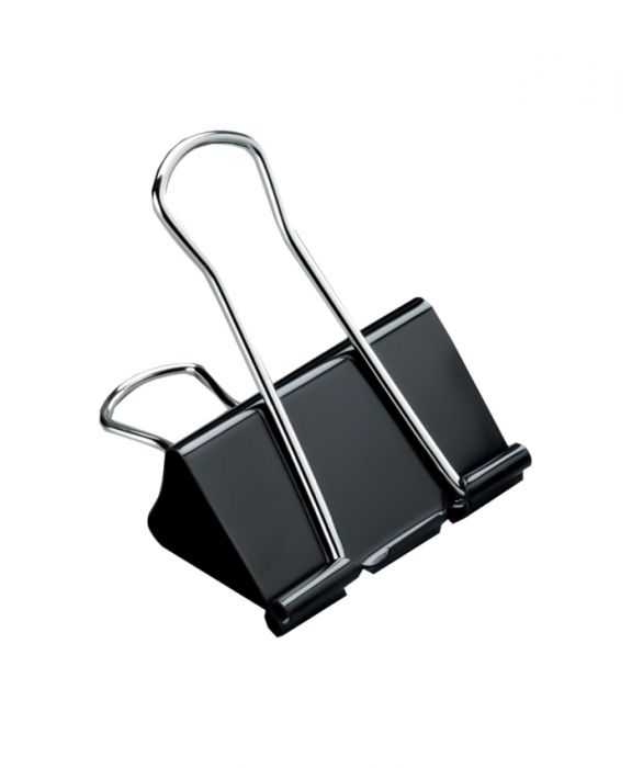 Shismark Binder Clip 41 Mm (pack Of 12pcs)