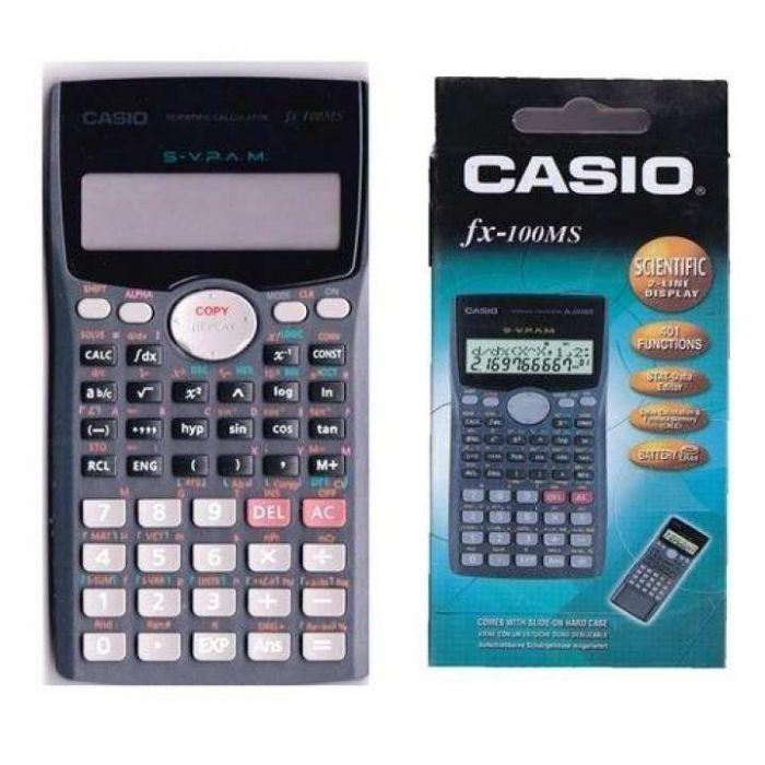 Casio Fx- 991ms Scientific Calculator Black