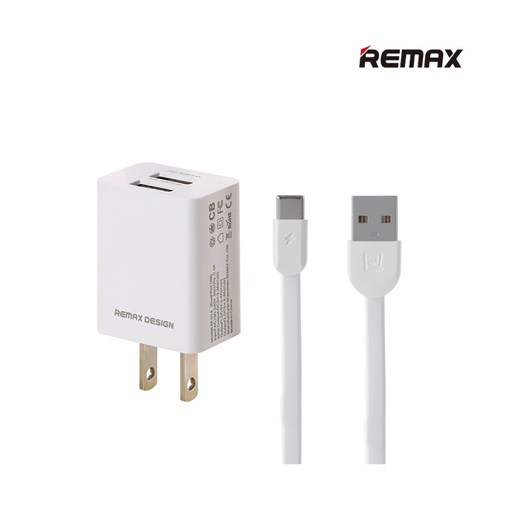 Remax Rp-u14a Type-c 2.4a First Charger