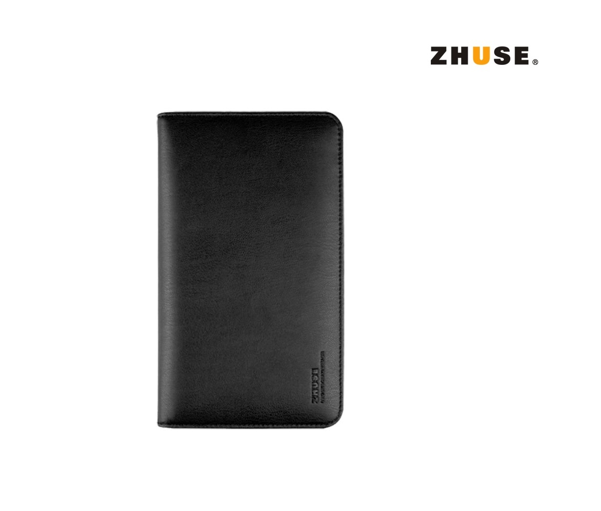 Zhuse X Series Leather Wallet - Black
