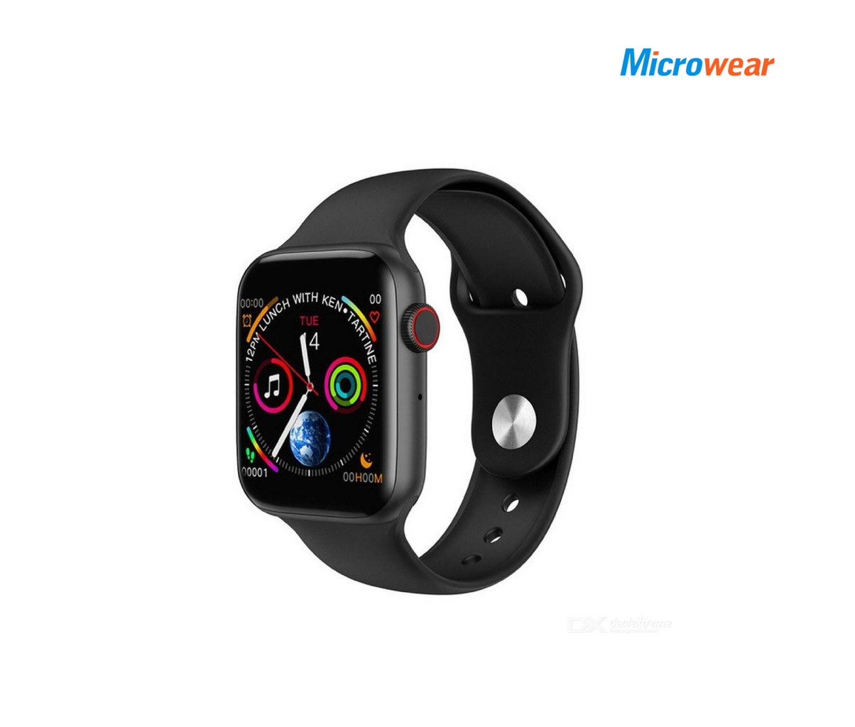 Microwear W55 Waterproof Sport Smart Watch
