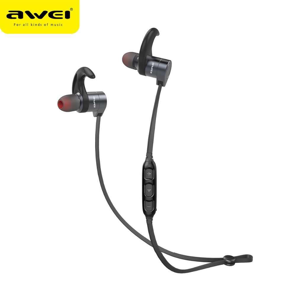 Awei Ak-3bl Magnetic Switch Wireless Sports Earphone