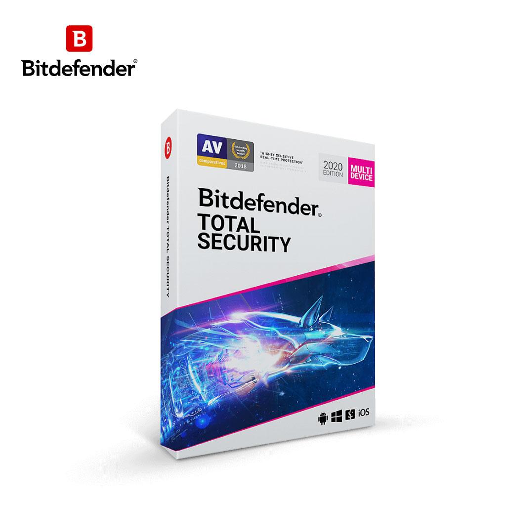 Antivirus Bitdefender Total Security (1 User)