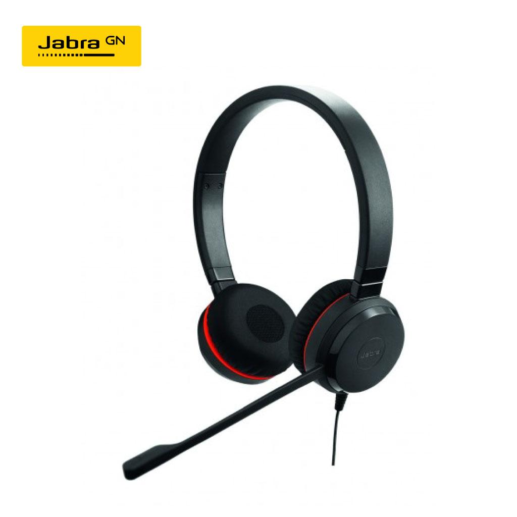 Jabra Evolve 30 Duo Usb & 3.5mm Jack Headset