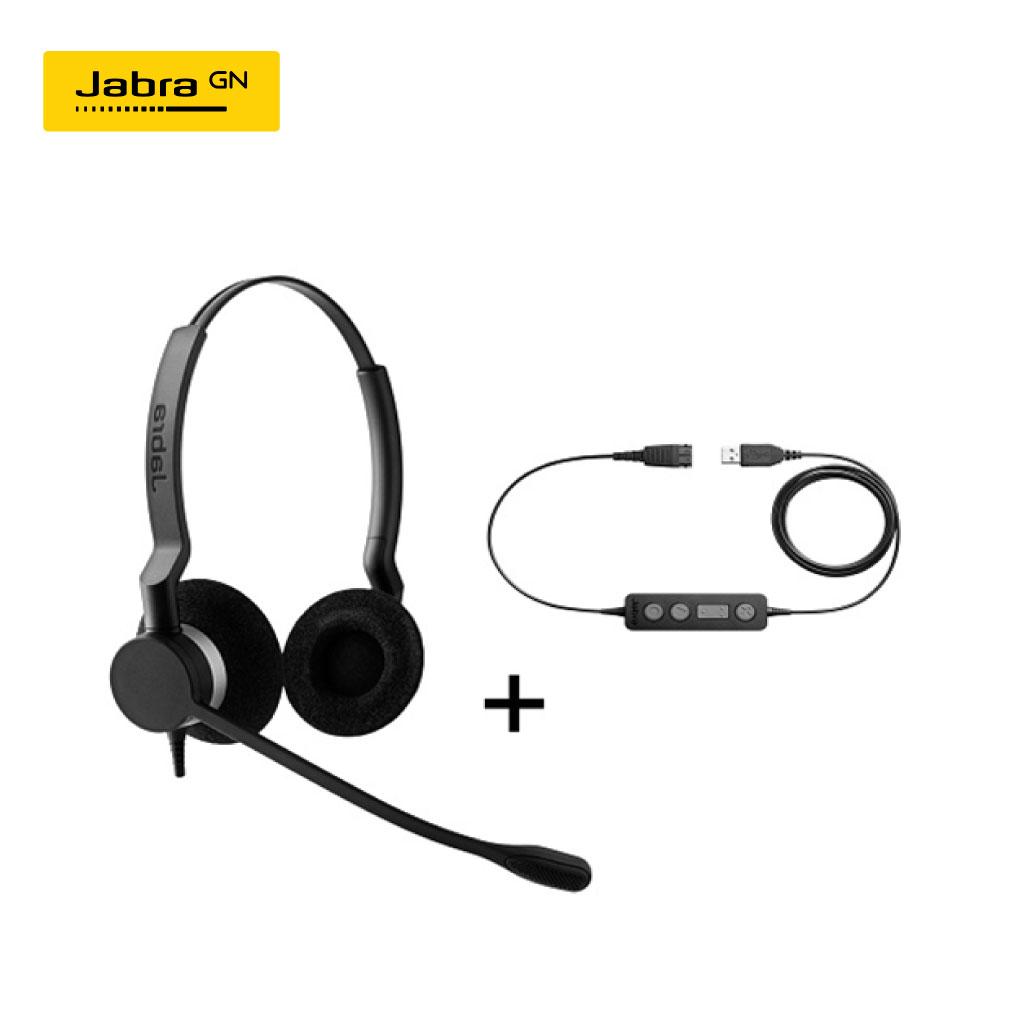 Jabra Biz 2300 Duo Headset