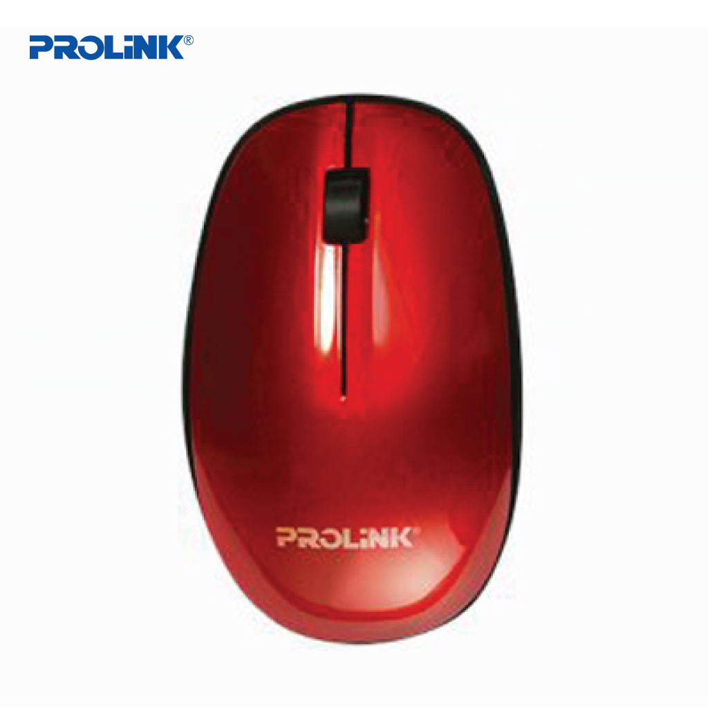 Prolink Pmw5007 Wireless Optical Mouse (red)