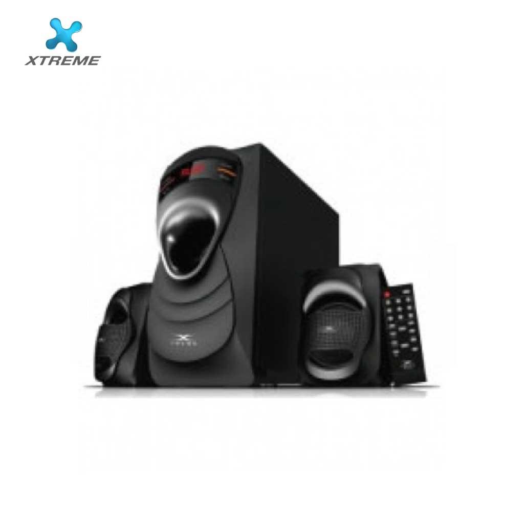Xtreme E354bu Multimedia Speaker With Remote 2:1 (usb/mmc/bt)