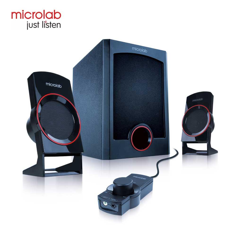 Microlab M111 Multimedia Speaker 2:1 With Volume Control