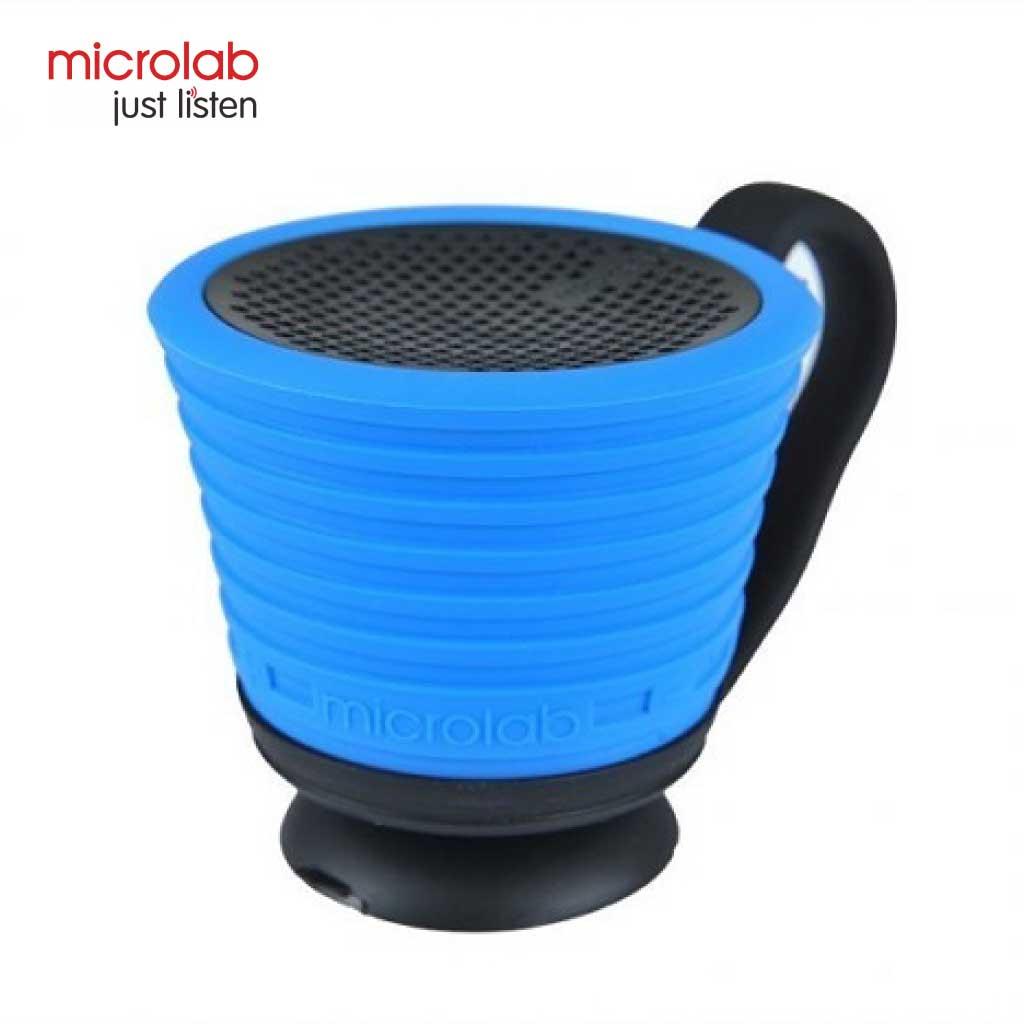 Microlab Magicup Portable Bluetooth Speaker (blue)