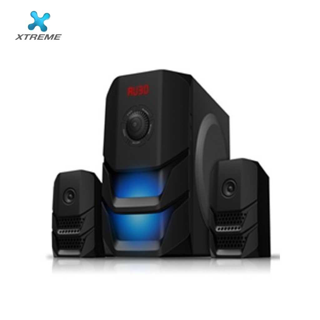 Xtreme E614bu Multimedia Speaker With Remote 2:1 (usb/mmc/bt)