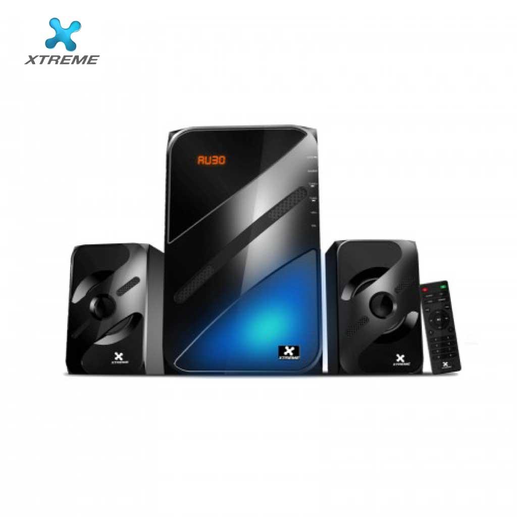 Xtreme E210bu Multimedia Speaker With Remote 2:1 (usb/mmc/bt)