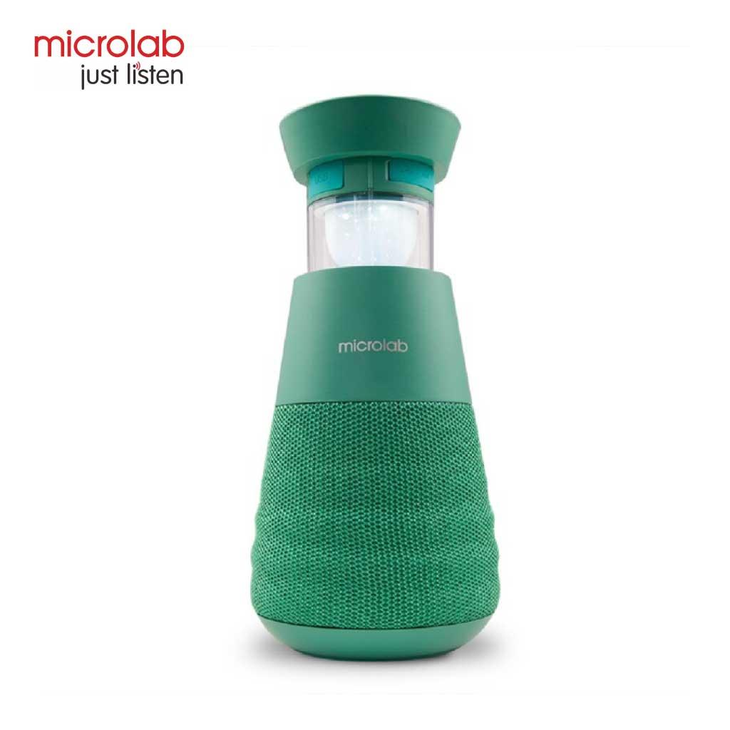 Microlab Lighthouse Portable Bluetooth Speaker (green)