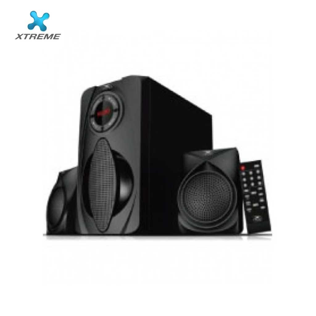 Xtreme E351bu Multimedia Speaker With Remote 2:1 (usb/mmc/bt)