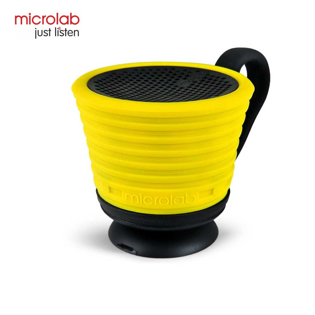 Microlab Magicup Portable Bluetooth Speaker (yellow)