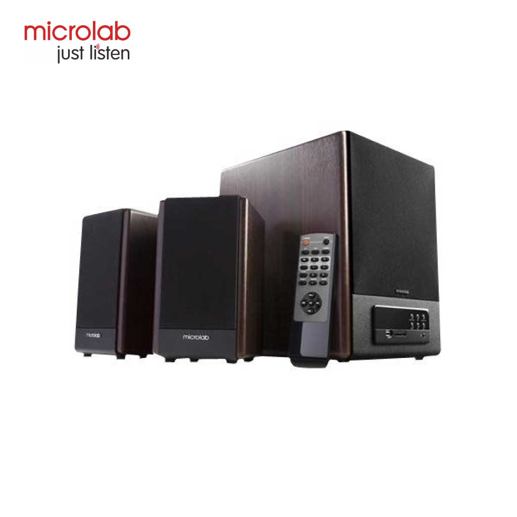 Microlab Fc530u Multimedia Wooden Speaker Usb 2:1
