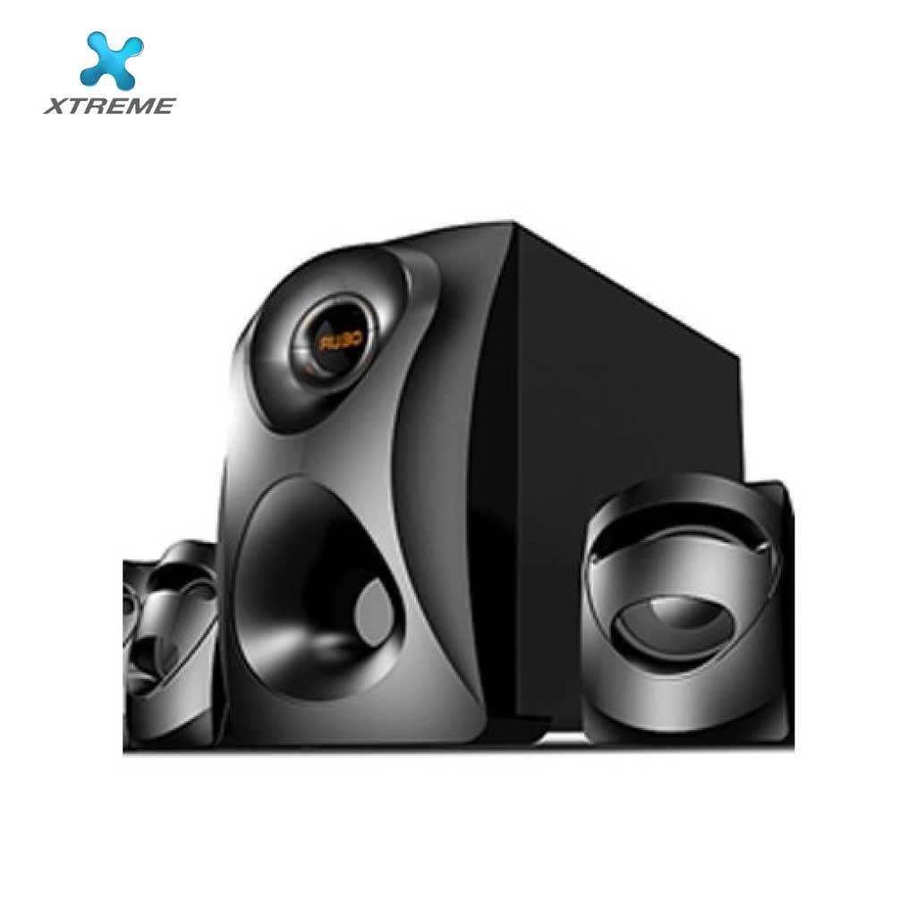 Xtreme E374bu Multimedia Speaker With Remote 2:1 (usb/mmc/bt)