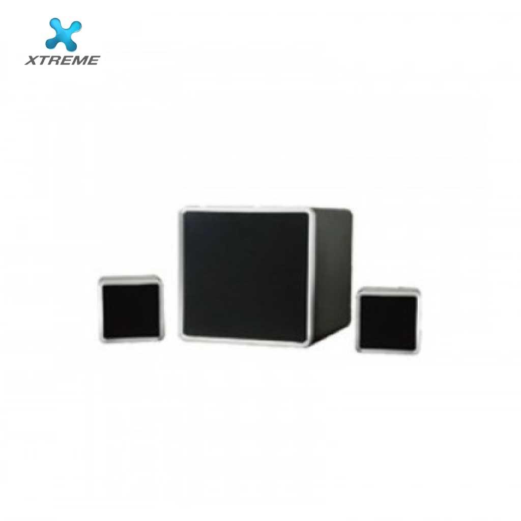 Xtreme E222bu Multimedia Speaker With Remote 2:1 (usb/mmc/bt)