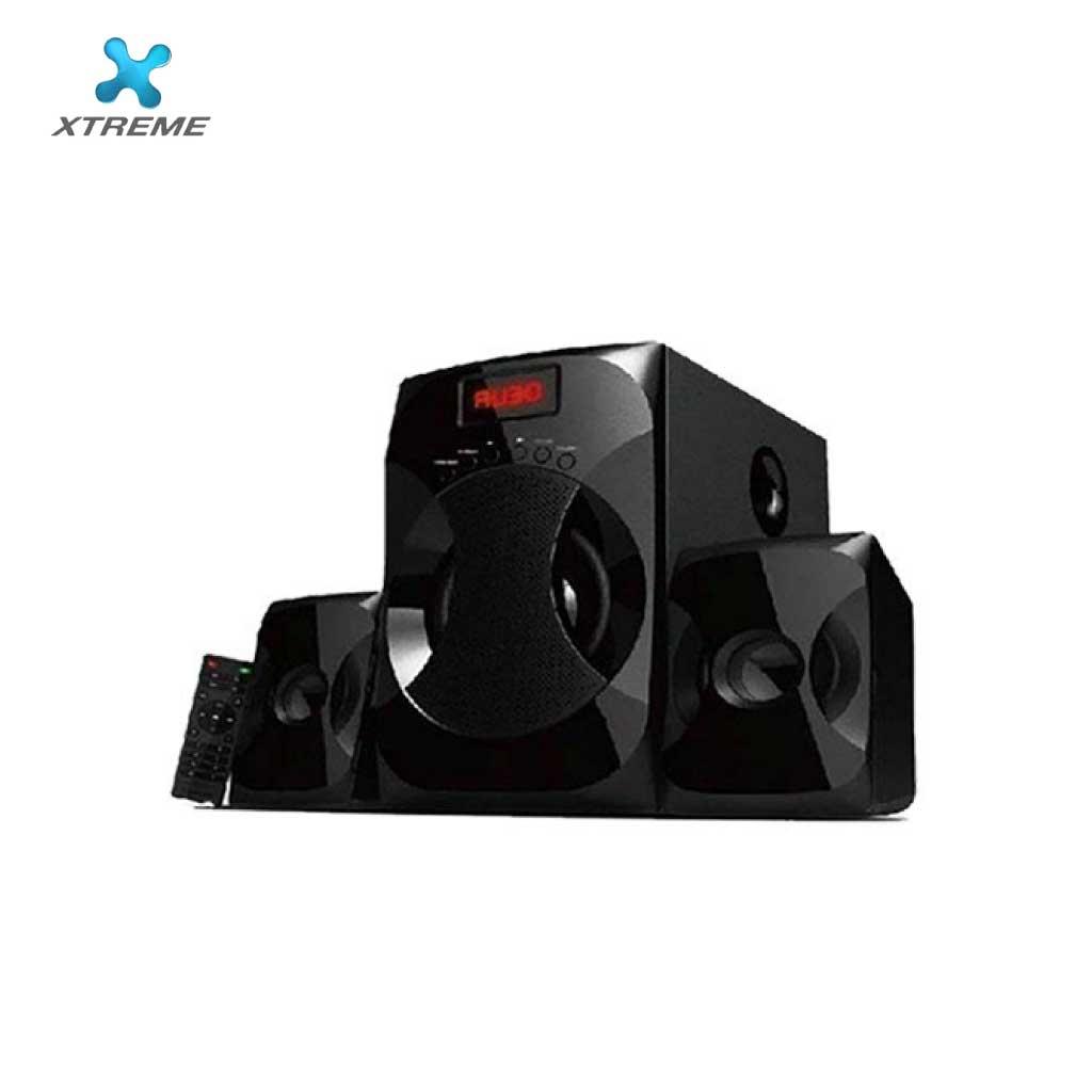 Xtreme E278bu Multimedia Speaker With Remote 2:1 (usb/mmc/bt)