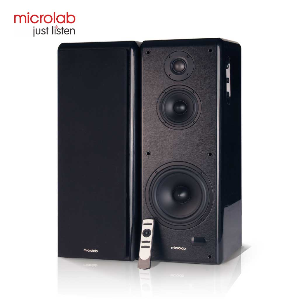 Microlab Solo 19 Multimedia Hi-fi Wooden Speaker 2:0 With Bluetooth