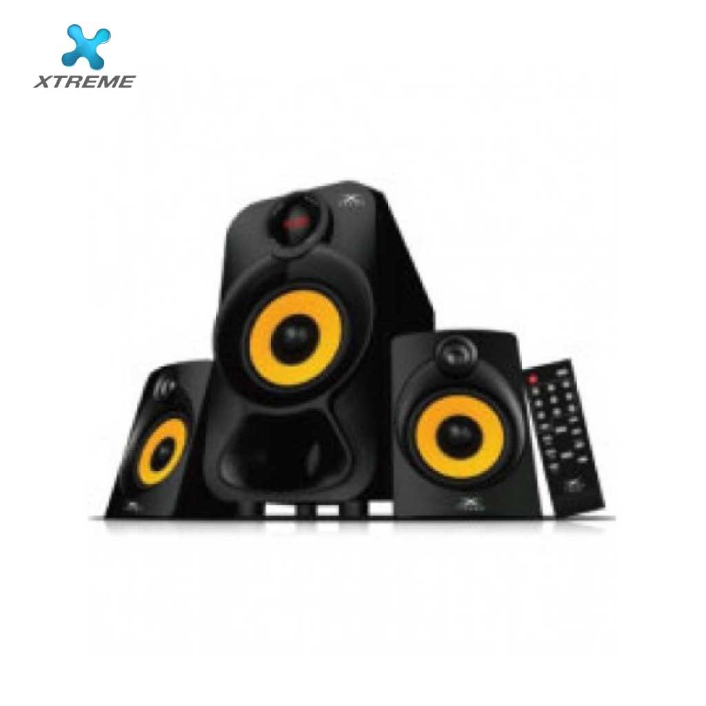 Xtreme E353bu Multimedia Speaker With Remote 2:1 (usb/bt)