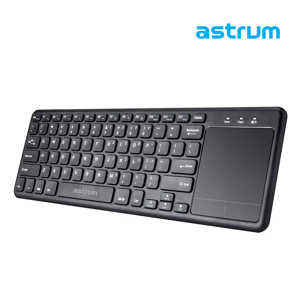 Astrum Kw280 Slim Wireless Keyboard Touchpad