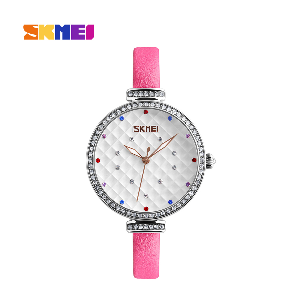 Skmei 9142pn Pink Quartz Women's Watch