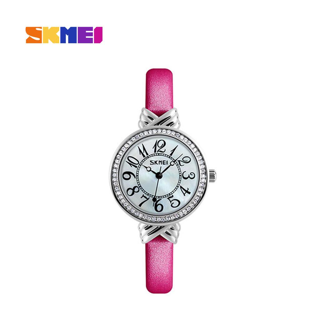 Skmei 9162pk Analog Wrist Watch For Women
