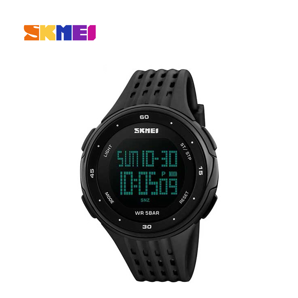 Skmei 1219bl Digital Women Wrist Watch