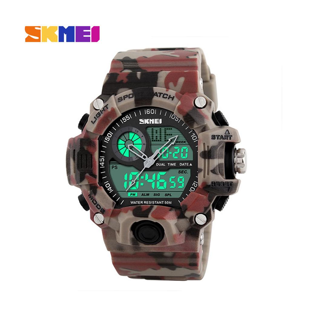 Skmei 1029cm Men Analog Digital Wrist Watch