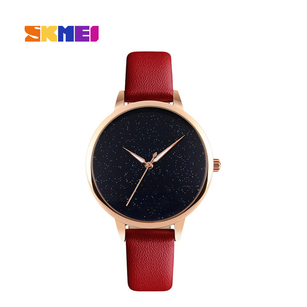 Skmei 9141rd Analog Wrist Watch For Women