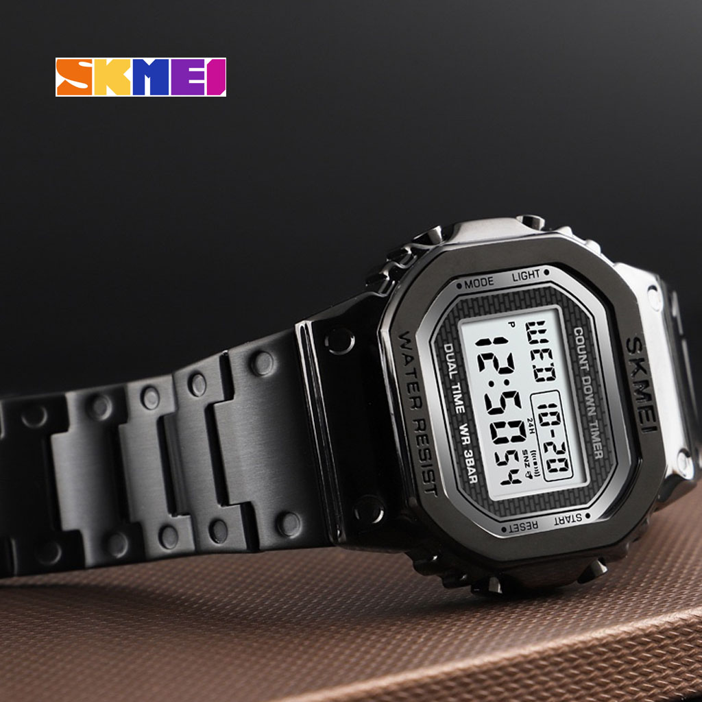 Skmei 1456bl Men Digital Watch