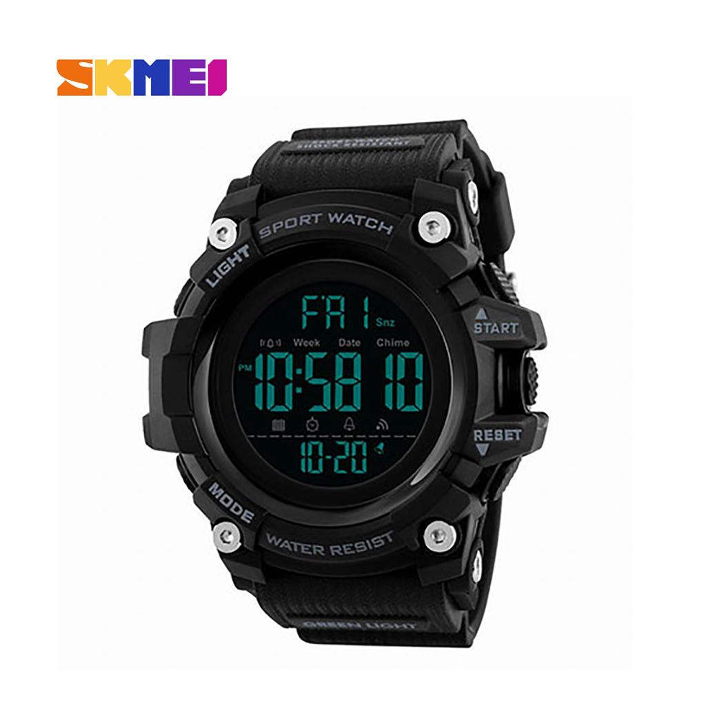 Skmei 1384bl Men Digital Multi-function Calendar Watch